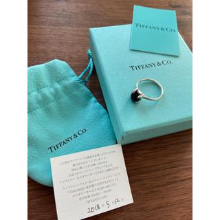 ティファニー(Tiffany & Co.)の専用です。ティファニー パロマピカソ シュガースタック リング 白と黒2点(リング(指輪))