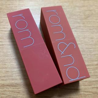 rom&nd zero gram lipstick(口紅)