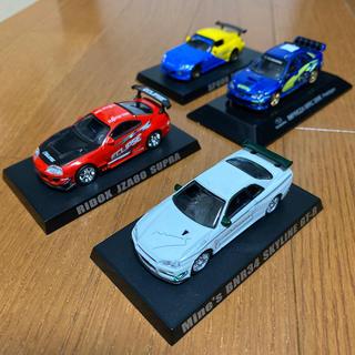 アオシマ(AOSHIMA)のアオシマ オプションミニカー コレクション 1/64  4台セット(ミニカー)