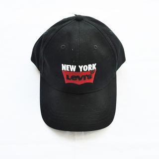 リーバイス(Levi's)の LEVI'S/リーバイス NEW YORK 刺繍ベースボールキャップ ブラック(キャップ)