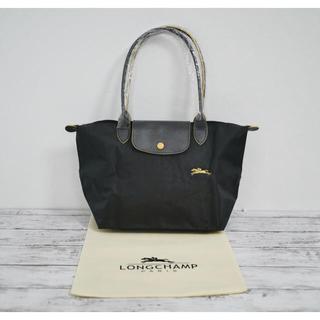 ロンシャン(LONGCHAMP)の新品 ロンシャン ル プリアージ ハンドバッグ Mサイズ ダークグレー(トートバッグ)
