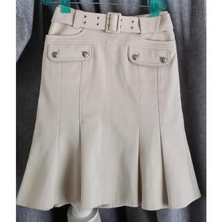 エポカ(EPOCA)の大変美品 やや保管シワ EPOCA  スポーティで上品なジャージスカート(ひざ丈スカート)