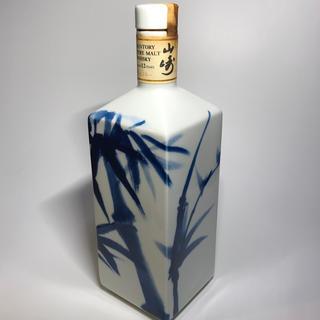 サントリー(サントリー)の山崎12年 竹林ボトル 箱付き レア(ウイスキー)