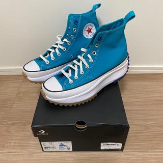 コンバース(CONVERSE)の26cm 新品未使用 converse run star hike blue (スニーカー)