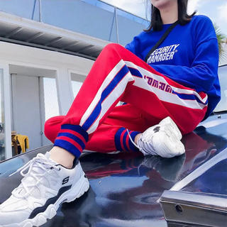 adidas - ラインパンツ ジャージ スウェット トラックパンツ