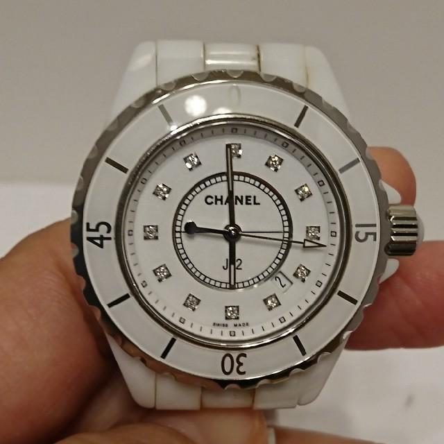 CHANEL(シャネル)のお値下げ シャネル J12 H1628  レディースのファッション小物(腕時計)の商品写真