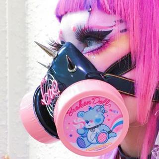 ガスマスク  ピンク 下北沢ブロークンドール製作(小道具)