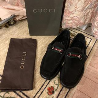 Gucci - 美品 GUCCI グッチ ビットローファー ドレスシューズ シェリーライン