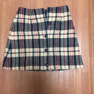 メリージェニー(merry jenny)のmerry jenny 台形スカート(ミニスカート)