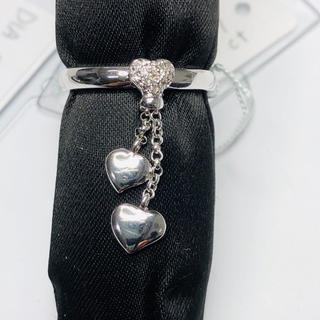 K18WG リング ダイヤモンド 0.08ct AANI アニ(リング(指輪))