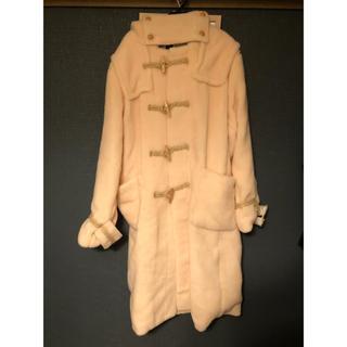 ファセッタズム(FACETASM)の【レア】新品FACETASM wool boa duffle coat PINK(ダッフルコート)