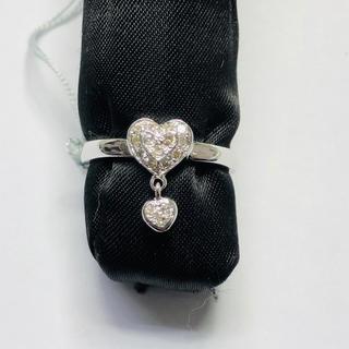 K18WG リング ダイヤモンド 0.15ct AANI アニ(リング(指輪))