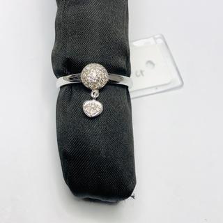 K18WG リング ダイヤモンド 0.18ct AANI アニ(リング(指輪))