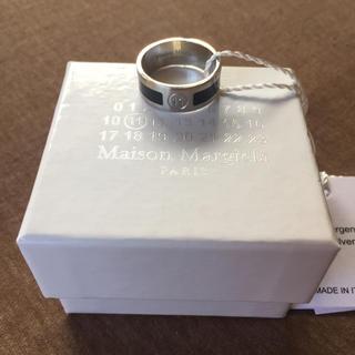 マルタンマルジェラ(Maison Martin Margiela)の20SS新品M メゾンマルジェラ ブラックバンド リング 指輪 今期 メンズ(リング(指輪))