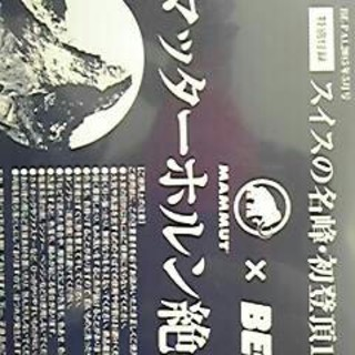 マムート(Mammut)のビーパル 付録(その他)