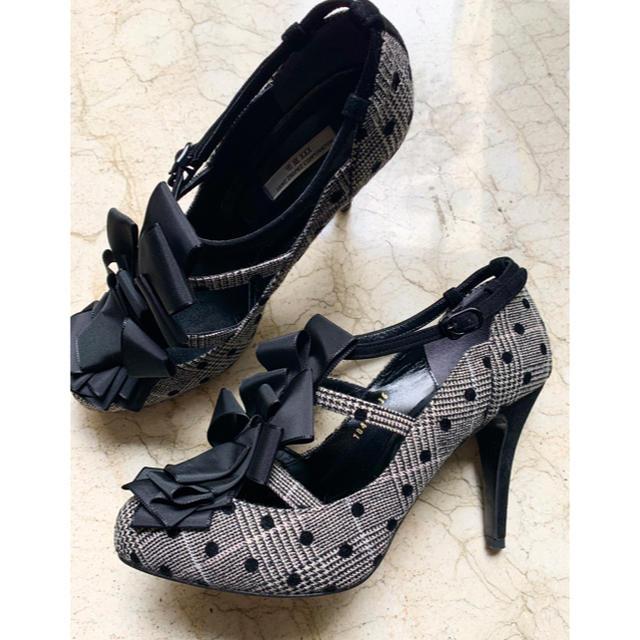 VII XII XXX(セヴントゥエルヴサーティ)のセブントゥエルブサーティー ツィードパンプス レディースの靴/シューズ(ハイヒール/パンプス)の商品写真