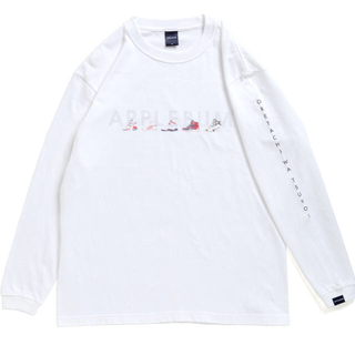 APPLEBUM - applebum ワルモノ long sleeve tee xl