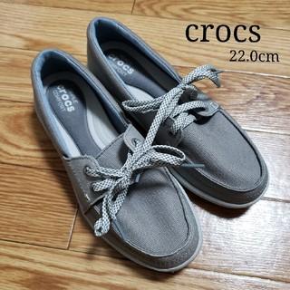 crocs - 〘最終価格〙14.キャンパススニーカー(22cm)