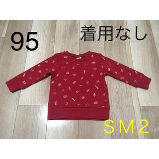 SM2 - サマンサモスモス*総柄トレーナー*美品