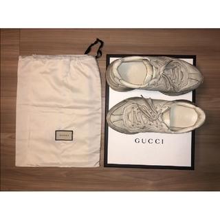 Gucci - 【値下げ】美品 GUCCI スニーカー