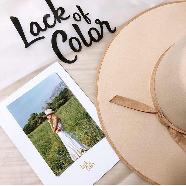 ALEXIA STAM(アリシアスタン)のLack of Color★ラックオブカラー★ハット★アリシアスタン★美智子 レディースの帽子(ハット)の商品写真