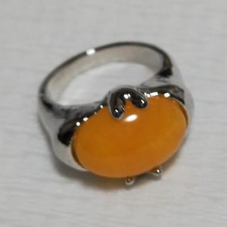 天然石 シルバー リング 9号(リング(指輪))