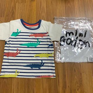 ボーデン(Boden)の新品 baby boden Tシャツ 18-24m 80 90 95 ワニ(Tシャツ/カットソー)