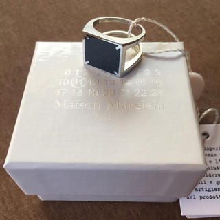 Maison Martin Margiela - 20SS新品S メゾンマルジェラ 4ステッチ リング 指輪 今期 ブラック