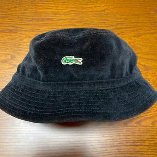 Supreme - Supreme×Lacoste Velour Bucket Hat ブラック L