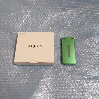 アクオス(AQUOS)のソフトバンク AQUOSケータイ3  新品 (携帯電話本体)