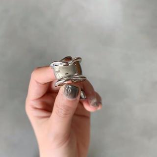 Silver925▫️Bone cuff ring(リング(指輪))