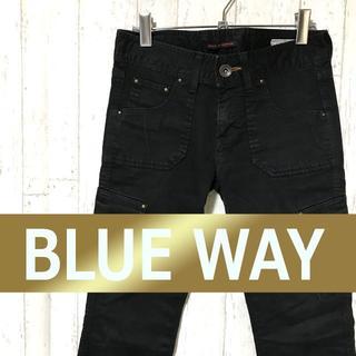 ブルーウェイ(BLUE WAY)の✨BLUE WAY ブルーウェイ カーゴパンツ チノパン(ワークパンツ/カーゴパンツ)