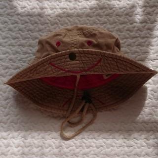 コドモビームス(こどもビームス)の[BEAMS mini]53cm スマイル サファリハット(帽子)