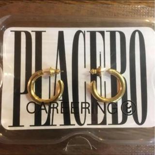 Chrome Hearts - CAREERING PLACEBO 501 両耳用 ゴールド キャリアリング