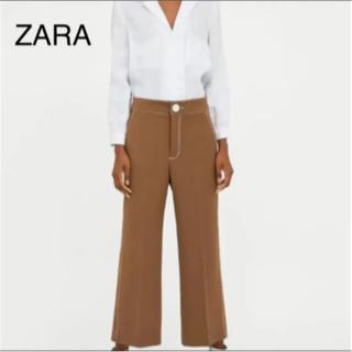 ザラ(ZARA)のZARA  新品未使用  茶色パンツ 13(カジュアルパンツ)