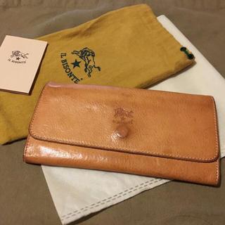 イルビゾンテ(IL BISONTE)の期間限定価格◆人気のヌメ革 イルビゾンテ 正規品 イタリアンレザー  長財布(長財布)