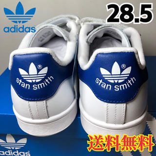 アディダス(adidas)の【新品】人気  アディダス スタンスミス スニーカー ベルクロ ブルー 28.5(スニーカー)