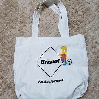 エフシーアールビー(F.C.R.B.)のFCRB×シンプソンズ コラボトートバッグ 美品(トートバッグ)