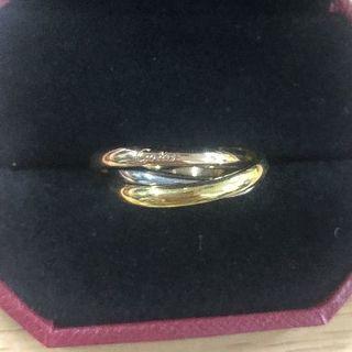 カルティエ(Cartier)のカルティエトリニティ三連リング(リング(指輪))