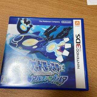 ニンテンドー3DS - 3DS ポケットモンスター アルファサァイア
