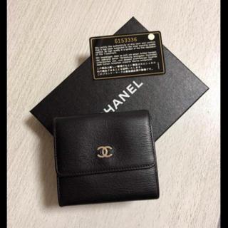 シャネル(CHANEL)のCHANEL 折りたたみ財布 値下げ中!(折り財布)