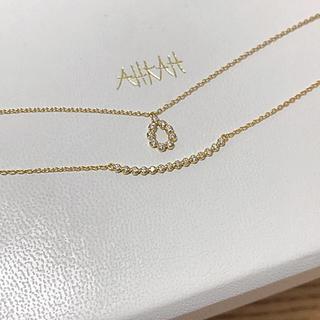 アーカー(AHKAH)の値下げ!アーカー  ビリーブドロップ ネックレス(ネックレス)