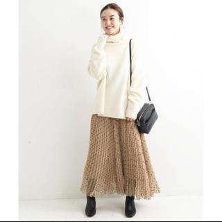 イエナ(IENA)のkayobox様専用 ☆新品未使用☆IENA フロッキーdotスカート(ロングスカート)