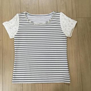 ミッシュマッシュ(MISCH MASCH)のミッシュマッシュ  ボーダー Tシャツ トップス(Tシャツ(半袖/袖なし))