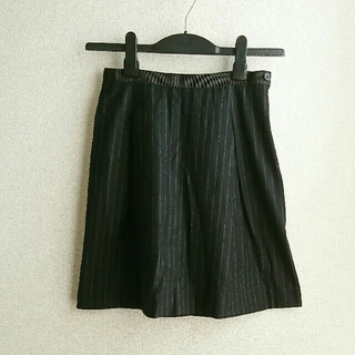 マーガレットハウエル(MARGARET HOWELL)のMARGARET HOWELL ストライプ柄スカート(ひざ丈スカート)