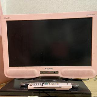 アクオス(AQUOS)のSHARP AQUOS 液晶テレビ 20インチ ピンク(テレビ)