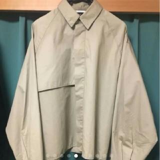 ジエダ(Jieda)のJieDa ジエダ 19ss TRENCH SHIRT トレンチシャツ ベージュ(シャツ)