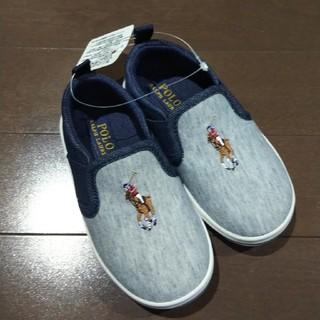 ポロラルフローレン(POLO RALPH LAUREN)の新品未使用☆POLO RALPH LAUREN キッズ靴(スリッポン)