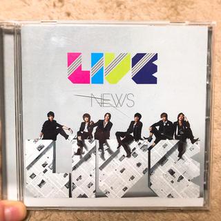 ニュース(NEWS)のNEWS  CD  LIVE(ミュージック)
