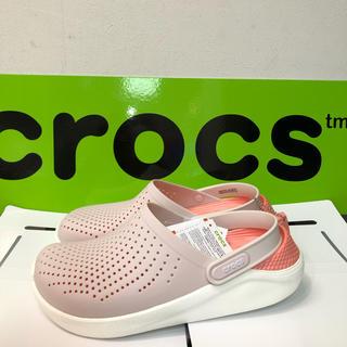 crocs - 新品クロックス/ライトライドクロッグ23.0